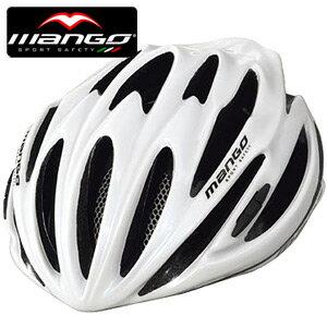 【MANGO-121 義大利】自行車安全帽(白).腳踏車.單車.小折.頭盔