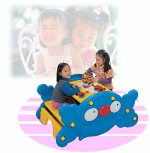 造型兩用桌(書桌+搖搖椅)(兒童桌椅子.兒童寫字桌椅.遊戲桌.翹翹板.造型桌椅.小朋友桌椅.兒童傢俱.推薦哪裡買)P072-FU01