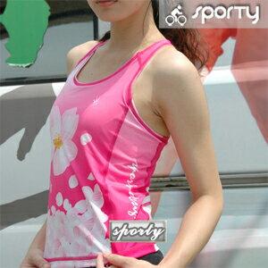 【sporty】女性無袖緊身上衣.自行車.腳踏車.單車.小折.車衣.騎行服P082-C0176