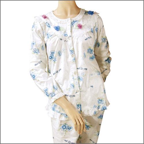 ~浪漫歐式~蕾絲二件式睡衣. 女裝.居家睡衣C95~0003
