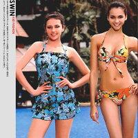 心機三件式泳衣到『泳裝出清』情迷巴厘島比基尼三件式泳裝.運動 c96-01005就在時代廣場推薦心機三件式泳衣