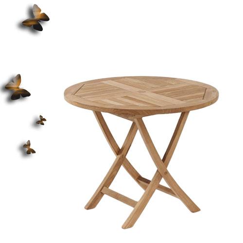 柚木折桌*120cm.庭院家具.木桌 - 限時優惠好康折扣