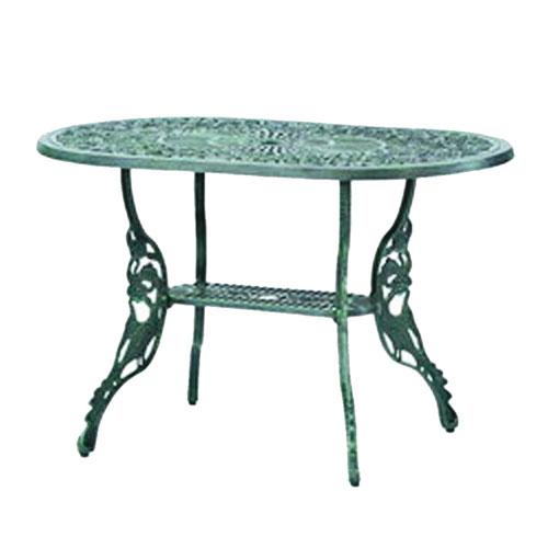 玫瑰橢圓桌*120CM.庭院家具 - 限時優惠好康折扣