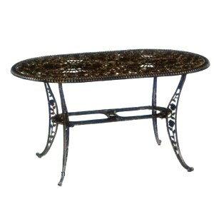 140cm玫瑰橢圓桌.庭院家具 - 限時優惠好康折扣