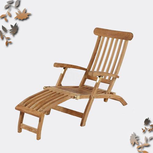 柚木折合躺椅.庭院家具 - 限時優惠好康折扣