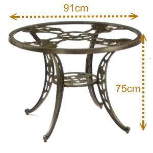 90cm玻璃桌.庭院家具 - 限時優惠好康折扣
