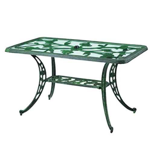 玫瑰長方桌*130CM.庭院家具 - 限時優惠好康折扣