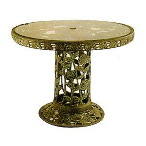 105cm玫瑰大腳桌.庭院家具 - 限時優惠好康折扣