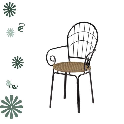 休閒格子椅.客廳家具.椅子