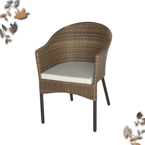 小沙發造型藤椅(不含椅墊,椅墊加購需840元).客廳家具 - 限時優惠好康折扣