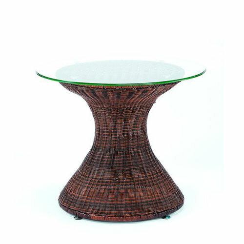 造型藤編桌*80cm.庭院家具.庭院桌 - 限時優惠好康折扣