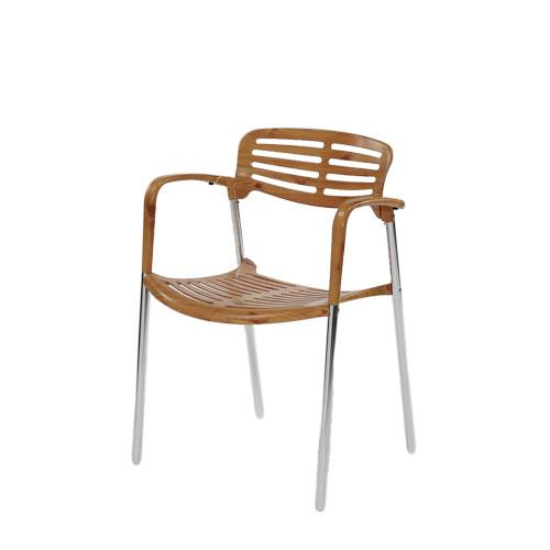復刻良品排骨椅-木紋.庭院家具 - 限時優惠好康折扣