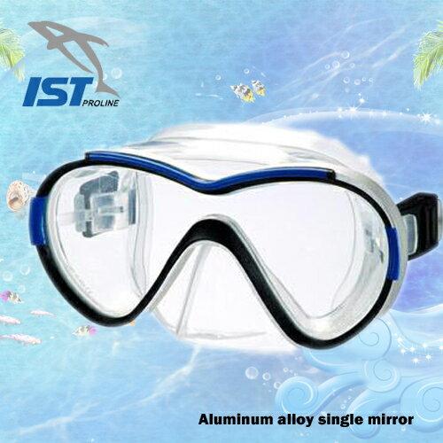 ~IST~SYKLOPS鋁合金單面鏡. .潛水.蛙鏡