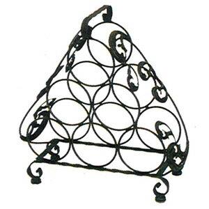 可提式三角形酒架(置物架.收納架.傢俱.紅酒架.廚房餐廳傢俱.便宜) - 限時優惠好康折扣