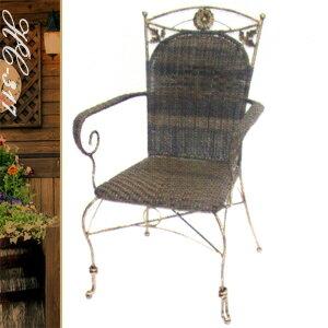古典雙葉扶手椅(休閒藤椅子.造型藤編椅.創意籐椅.餐廳椅.咖啡椅.麻將椅.客廳椅.庭園椅.傢俱家具傢具特賣會) - 限時優惠好康折扣