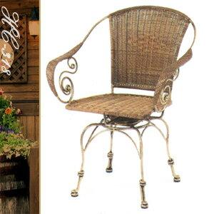 典雅扶手旋轉椅(休閒藤椅子.造型藤編椅.創意籐椅.咖啡旋轉椅.麻將轉椅.餐廳椅.客廳椅.庭園椅.傢俱家具傢具特賣會)