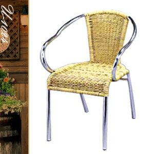 休閒藤鋁椅(休閒椅子.造型椅.咖啡椅.戶外椅.麻將椅.餐廳椅.庭園椅.傢俱家具傢具特賣會) - 限時優惠好康折扣