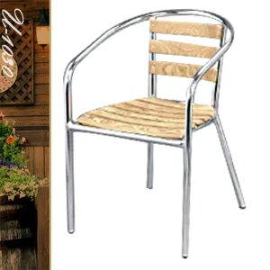 復刻良品鋁木椅(休閒木椅子.造型椅.咖啡椅.戶外椅.麻將椅.餐廳椅.庭園椅.傢俱家具傢具特賣會)