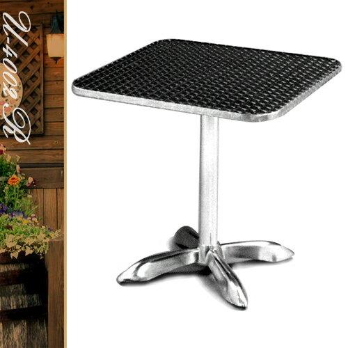 70CM鋁製正方桌(金屬全包邊)方型茶几.置物桌.洽談桌.餐桌子.休閒桌.庭園桌.傢俱家具傢具特賣會