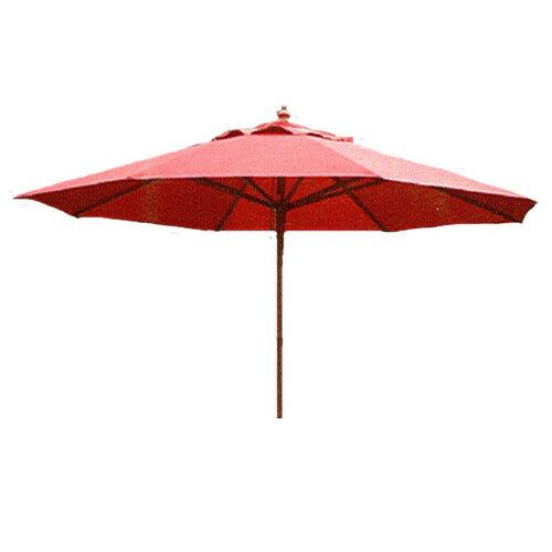 9尺木傘(庭園傘.庭院傘.戶外休閒傘.遮陽傘.庭院傢俱.咖啡廳傘.便宜)(反服貿休息站) - 限時優惠好康折扣