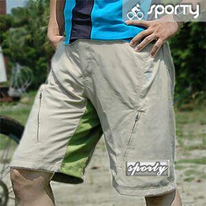 【sporty】KURT男用專業級休閒二件式車褲.自行車褲.腳踏車褲P082-C0130 - 限時優惠好康折扣