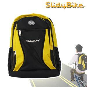 【SlidyBike】自行車警示燈背包.腳踏車.卡打車.單車.小折P075-016