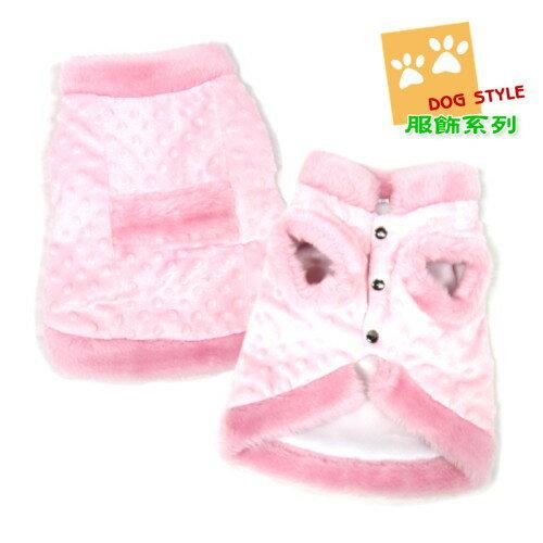 粉紅點子棉襖