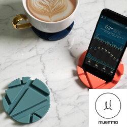 德國muemma PROP Coaster 多功能支架杯墊 萬能杯墊二入組 五色可選 交換禮物首選