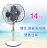 雙生-14吋節能風球機 雙面扇/立扇/雙頭扇/電扇/電風扇 - 限時優惠好康折扣