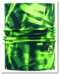 【【蘋果戶外】】BF113701西班牙BUFF銀離子快乾頭盔巾螢綠幻影透氣吸汗速乾單車頭巾