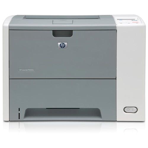 HP LaserJet P3005N Laser Printer - Monochrome - 1200 x 1200 dpi Print - Plain Paper Print - Desktop - 33 ppm Mono Print - Letter, Legal, Executive, A4, A5, B5 (JIS) - 600 sheets Standard Input Capacity - 100000 Duty Cycle - Manual Duplex Print - Ethernet 0