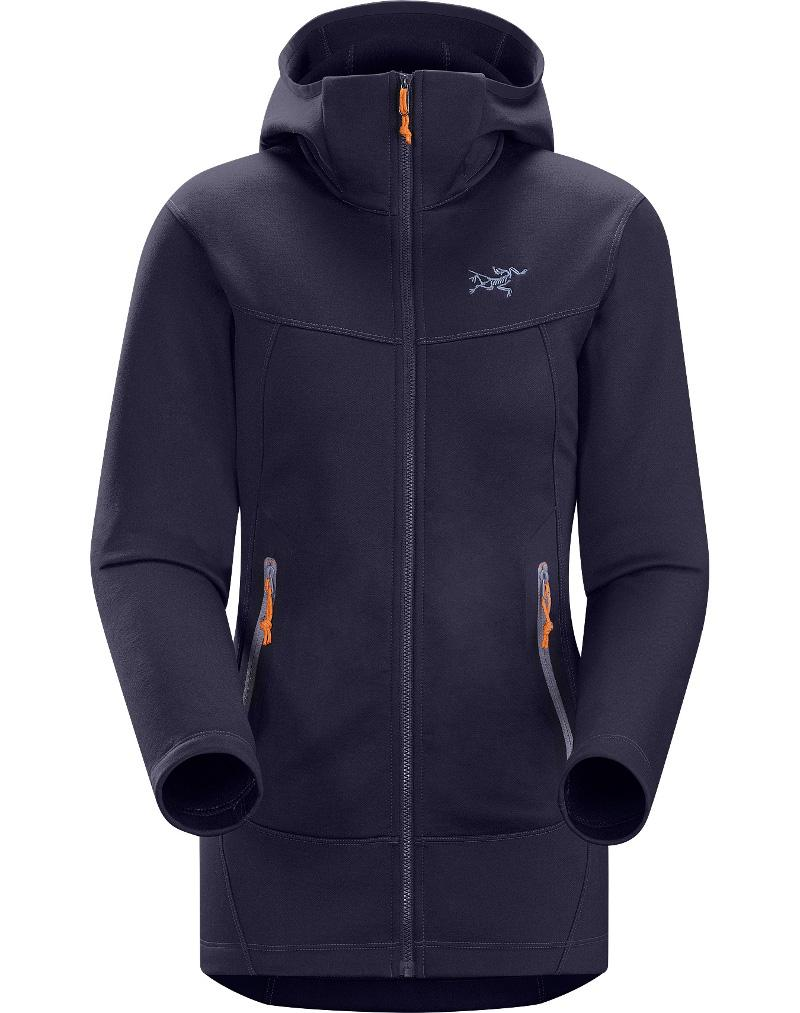 Arcteryx 始祖鳥 Arenite Hoody 連帽保暖刷毛外套/中層衣/滑雪/出國旅遊 16233 女款 馬里亞納墨紫 Arc\