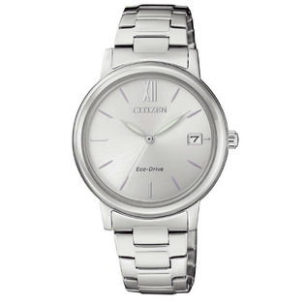 CITIZEN星辰錶FE6090-85A簡約時尚光動能腕錶白面33mm