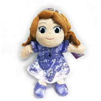 ㊣正版迪士尼授權㊣《 絨毛系列 》27 公分蘇菲亞公主手偶