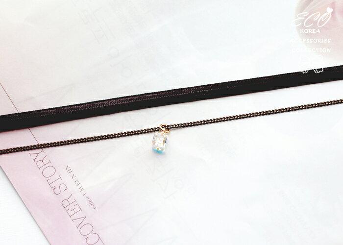 立方鑽,頸鍊,項鍊,韓貨,韓製,項鍊