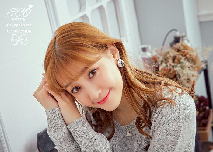 個性夾式耳環,夾式耳環,無耳洞耳環,螺旋夾耳環,韓國飾品,耳環