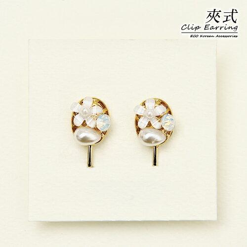ECO安珂.芙蘿拉 夾式耳環(螺旋夾)【2-1753】