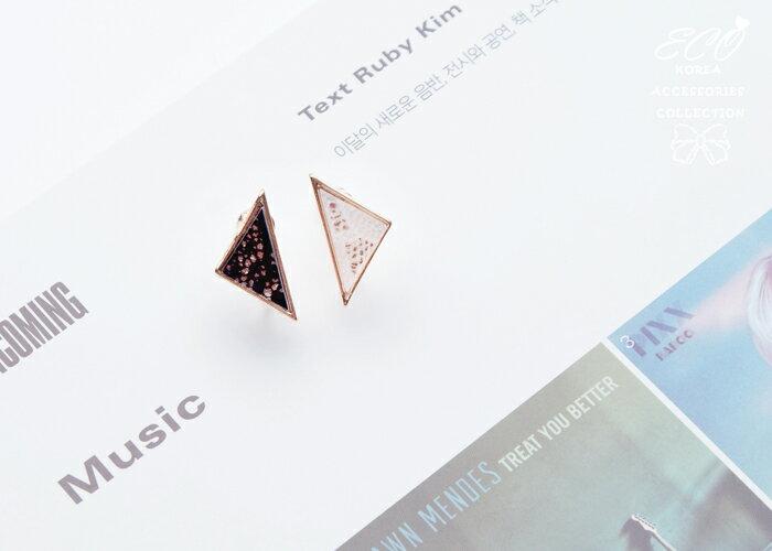 不對稱夾式耳環,夾式耳環,無耳洞耳環,韓製,韓國,耳環