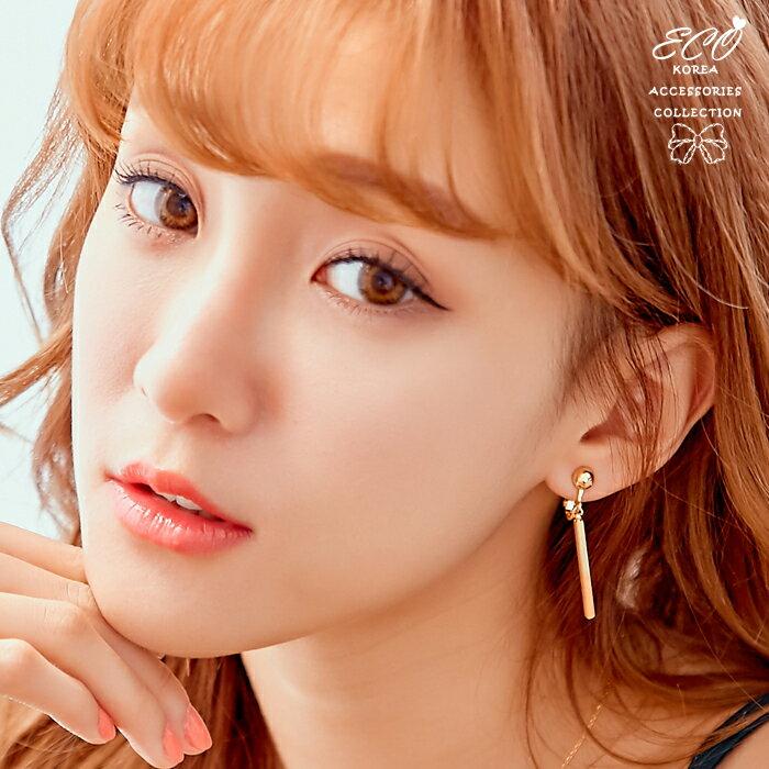 簡約夾式耳環,夾式耳環,無耳洞耳環,韓製,韓國,耳環