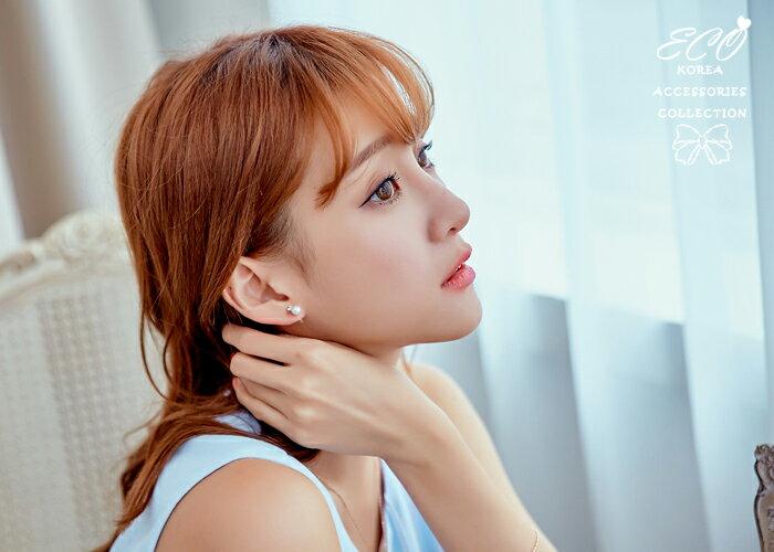 珍珠耳環,鑲鑽耳環,夾式耳環,耳夾,無耳洞耳環,矽膠耳夾,矽膠夾耳環,韓國耳環,貼耳耳環