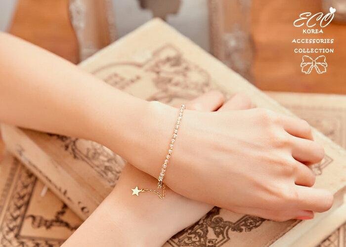 手鍊,雙鍊手鍊,韓國製手鍊,韓國飾品,手環