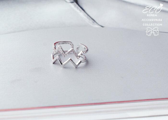 簡約,雙排戒,可調戒,韓製,韓國戒指,韓貨,戒指
