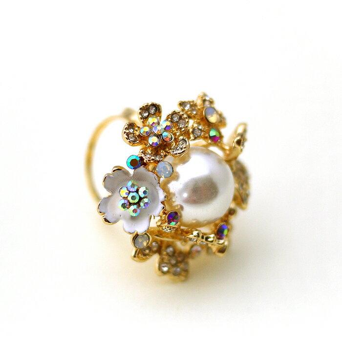 花朵,彩鑽,蛋白石,蝴蝶,珍珠,鑽,絲巾釦,絲巾環,三環,服飾配件