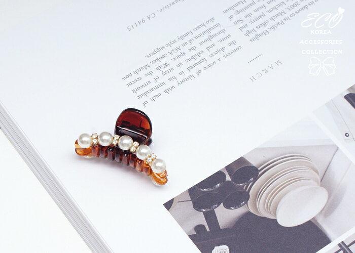 珍珠,髮夾,抓夾,韓國髮飾,韓國髮圈,韓國飾品,髮圈