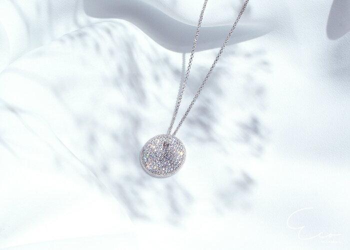 鑽,短項鍊,鎖骨項鍊,項鍊,韓貨,韓製,項鍊