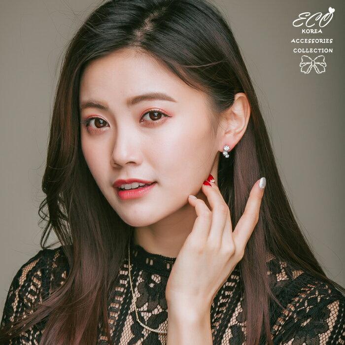 鑽,婚宴系列,伴娘系列,夾式耳環,無耳洞耳環,韓製,韓國,耳環