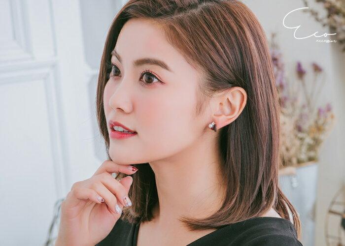 三角,夾式耳環,無耳洞耳環,耳環,韓製,韓國,耳環