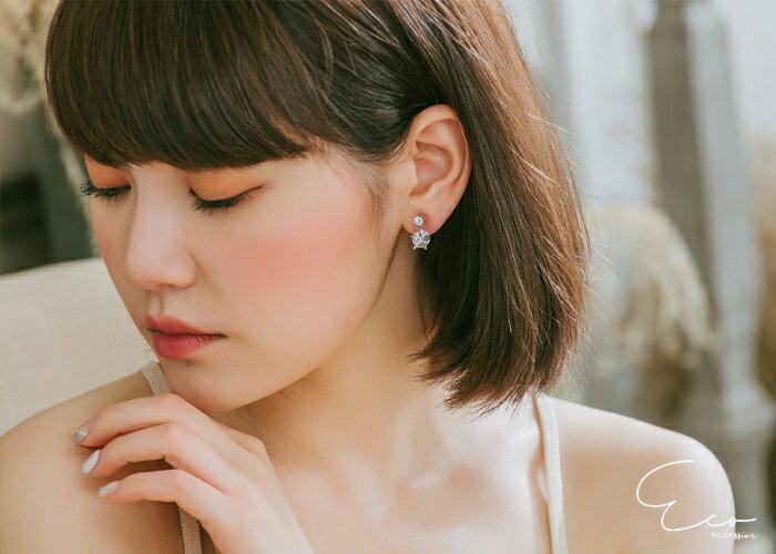 星星,夾式耳環,無耳洞耳環,韓製,韓國,耳環