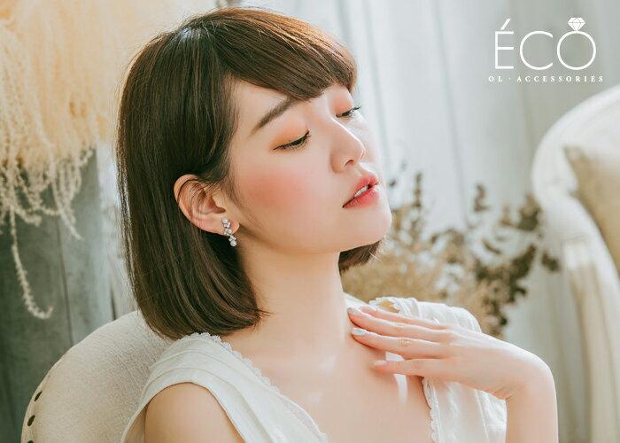 珍珠,垂墜,夾式耳環,無耳洞耳環,韓製,韓國,耳環