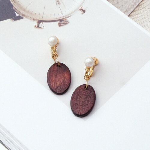 (預購+現貨)原林之木耳夾式耳環(螺旋夾)【2-2703】